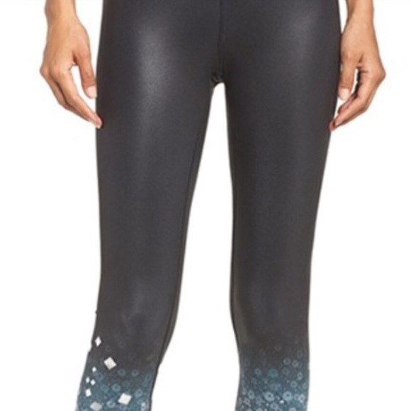 620c1a1a ALO Yoga Pants | Airbrush Legging Glitter Sparkle Metallic | Poshmark